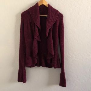 Moda maroon sweater